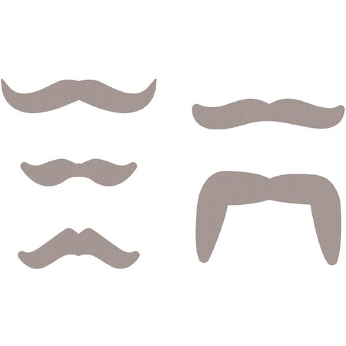 Lifestyle Crafts - Die Cutting Template - Mustaches 2