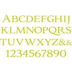 We R Memory Keepers - Letterpress - Printing Plate Set 4 - Everyday