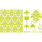 QuicKutz - Letterpress - Printing Plate Set 5 - Everyday