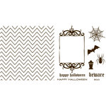 We R Memory Keepers - Letterpress - Halloween - Printing Plate Set 1 - Holiday