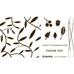 We R Memory Keepers - Letterpress - Printing Plate Set 2 - Holiday