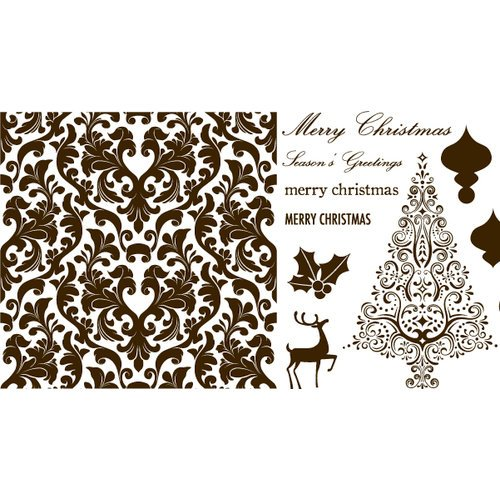 We R Memory Keepers - Letterpress - Printing Plate Set 3 - Holiday