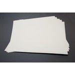 Lifestyle Crafts - Letterpress - Paper - 12 x 12 - Thick - Cream