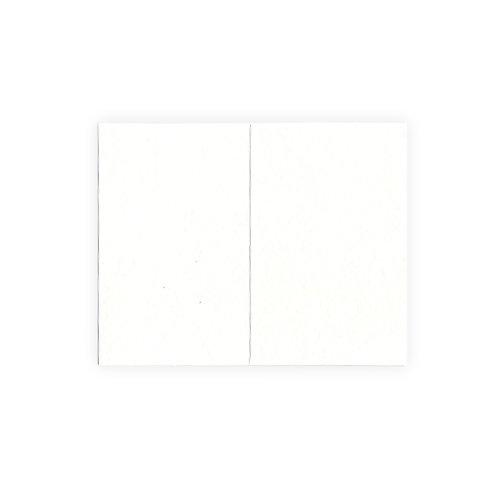 We R Memory Keepers - Letterpress - Paper - Mini Fold - White