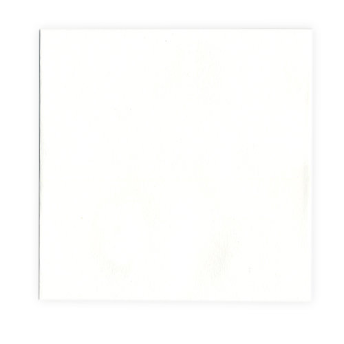 We R Memory Keepers - Letterpress - Paper - Square Flat - White