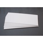 Lifestyle Crafts - Letterpress - Paper - No. 10 Flat - Thick - White