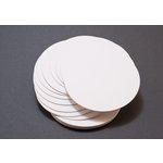 Lifestyle Crafts - Letterpress - Paper - Circle - White