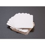 We R Memory Keepers - Letterpress - Paper - Rounded Square - White
