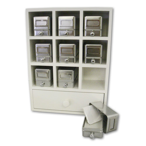 QuicKutz - Magpie Nesting Storage System Kit - White