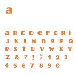 Quickutz - Moxie - SkinniMini Unicase Alphabet Set