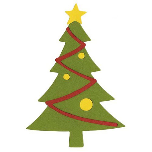 Lifestyle Crafts - Die Cutting Template - Christmas - Christmas Tree