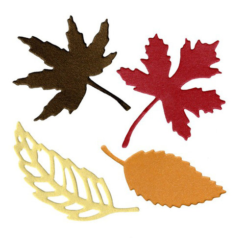 Lifestyle Crafts - Die Cutting Template - Leaves