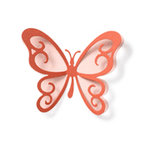 QuicKutz - Revolution - 4 x 4 Shape Dies - Butterfly