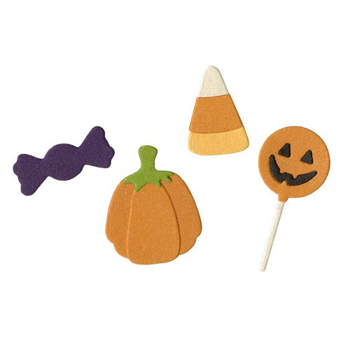 Lifestyle Crafts - Halloween - Die Cutting Template - Candy