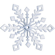 QuicKutz - Basic Shapes Dies - Snowflake