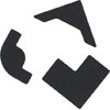 QuicKutz - Pocket Die - Photo Corners - Three Styles