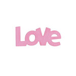 Lifestyle Crafts - Die Cutting Template - Love
