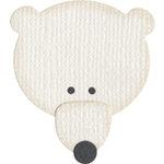 QuicKutz - Basic Shapes Dies - Polar Bear, CLEARANCE
