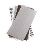 Lifestyle Crafts - Shape 'N Tape - 6 x 12 Decorative Adhesive Sheets - Black