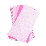 Lifestyle Crafts - Shape 'N Tape - 6 x 12 Decorative Adhesive Sheets - Hot Pink