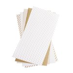 Lifestyle Crafts - Shape 'N Tape - 6 x 12 Decorative Adhesive Sheets - Gold
