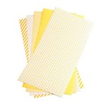 We R Memory Keepers - Shape N Tape - 6 x 12 Decorative Adhesive Sheets - Yellow