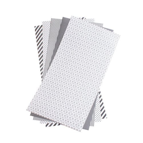 Lifestyle Crafts - Shape 'N Tape - 6 x 12 Decorative Adhesive Sheets - Gray