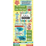 Quick Quotes - Be Bold Collection - Die Cut Cardstock Stickers