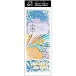 Quick Quotes - Summer Breeze Collection - Cardstock Strip - Words and Phrases