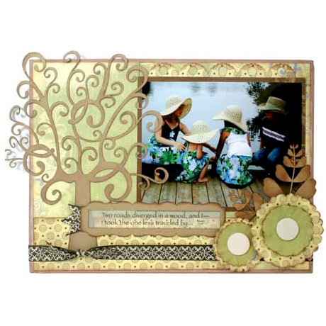 Quick Quotes - Home Decor Collection - Wall Hanging Canvas Kit - Two Roads, CLEARANCE