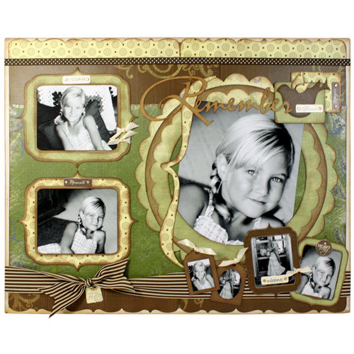 Quick Quotes - Home Decor Collection - Wall Hanging Canvas Kit - Remember, CLEARANCE
