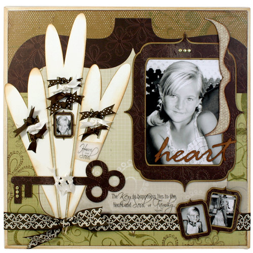 Quick Quotes - Home Decor Collection - Wall Hanging Canvas Kit - Key, CLEARANCE