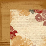Quick Quotes - Christmas Collection - 12 x 12 Double Sided Paper - Cracklin' Rose Two