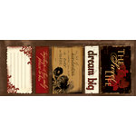 Quick Quotes - Cracklin Rose Collection - Cardstock Strip - Words and Phrases