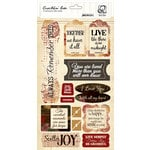 Quick Quotes - Cracklin Rose Collection - Chipboard Die Cuts