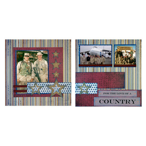 Quick Quotes - 12 x 12 Page Kit - For the Love of a Country