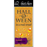 Quick Quotes - Halloween Collection - Color Vellum Quote Strip - Hall-O-Ween