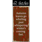 Quick Quotes - Fall Collection - Color Vellum Quote Strip - Autumn Leaves
