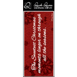 Quick Quotes - Christmas Collection - Color Vellum Quote Strip - Sweetest Christmas