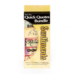 Quick Quotes - Bundle of Quotes and Phrases - Cardstock and Vellum Quote Strips - Sentiments