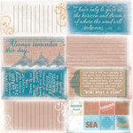 Quick Quotes - Stowaway Collection - 12 x 12 Paper - Phrases