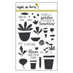 Right At Home - Clear Acrylic Stamps - Let Love Grow