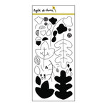 Right At Home - Clear Acrylic Stamps - Fall Leaves
