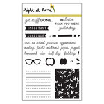 Right At Home - Clear Acrylic Stamps - Back to School Planner
