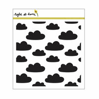 Right At Home - Cling Rubber Stamps - Cloud Background Stamp
