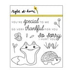 Right At Home - Clear Acrylic Stamps - Friendly Fox