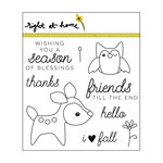 Right At Home - Clear Acrylic Stamps - Deerest Friends