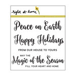 Right At Home - Christmas - Clear Acrylic Stamps - Magic of the Season