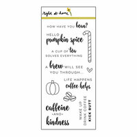Right At Home - Clear Acrylic Stamps - How Have You Bean