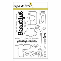 Right At Home - Clear Acrylic Stamps - Make Something Beautiful
